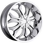 22x9.5 Chrome VCT Godfather Wheel 6x135 & 6x139.7 +30