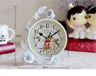 A05 Originality Iron Art Mute Living Room Bedroom Office Desk Clock Ornament O