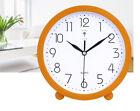 A44 Originality Plastic Mute Living Room Bedroom Office Desk Clock Ornament O