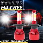 H4 9003 HB2 High Lo Beam 6000K LED Headlight Kit For Volkswagen Beetle 2012-2014