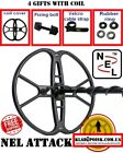 """Coil NEL ATTACK 15x15"""" 38 cm for QUEST Q20 Q40 Metal Detector FREE SHIPPING"""