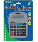 Bazic 8-Digit Calculator with Adjustable Display 72 pcs sku# 816488MA