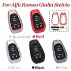 Remote Key Cover Fob Case Shell Aluminum Alloy For Alfa Romeo Giulia Stelvio 17