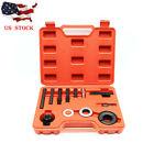 12pcs Pulley Puller & Installer Kit Set Power Steering Pump Remover Alternator