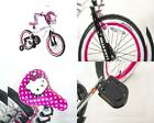 "Hello Kitty Dynacraft Girls BMX Street Bike 18"", White/Black/Pink"