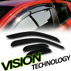 Rain/Wind Guard Shade Window Visor For 07-13 Chevy/GMC Silverado Sierra Ext Cab