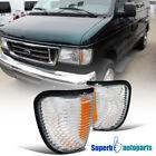For 1992-2007 Ford Econoline E150 E250 Corner Lights Lamps Pair