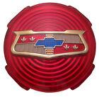 1958 58 Chevy Impala Spinner Emblem Original Red