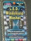 LITE GLOW, L.E.D. Windshield Washer, (BLUE) NEW