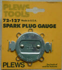 NOS! PLEWS ROUND SPARK PLUG GAUGE, No. 72-127, Made in USA!