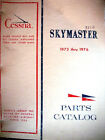 1973 - 1976 337 Skymaster Parts Manual for 337G & F337G