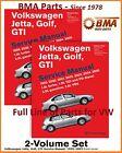 NEW VOLKSWAGEN VW JETTA GOLF GTI 1999-2005 BENTLEY SERVICE REPAIR MANUAL VG05