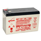 Enersys Genesis 12V 7AH F2 Battery Replacement for Vision CP1290 F2