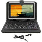 "White 8GB 7"" Android 4.0 Tablet Cortex A8 Dual Cameras Bundle Keyboard&Earphone"