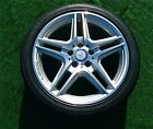 PERFECT OEM Mercedes-Benz AMG C-CLASS COUPE 18 inch WHEELS TIRES C250 C300 C350