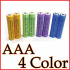 8 x 4 color AAA 3A rechargeable battery Ni-Mh Combo MP3