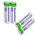 FOUR 18650 Batteries Rechargeable 168A 3.7V 2600mAh  Battery X 4
