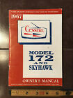 1967 Cessna Skyhawk 172 Owner's Manual