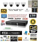 4CH Security Network DVR HD-SDI System Package & 2 TB HD & 4 Indoor Camera