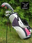AGXGOLF GIRL'S TALL EDITION AVT PINK GOLF CLUB SET w/STAND BAG & FREE PUTTER