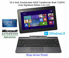 Touchscreen ASUS Transformer Book T100TA Quad-Core Tablet^(w/Dock)+64GB SSD+Win8