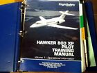 Hawker 800XP Pilot Training Manual, Vol. 1 Operational Information