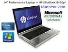 "14"" Premium Laptop~HP EliteBook 8460p+Gen2 Core i5+250GB+2GB+DVDRW+WEBCAM+NO OS"