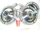 SET OF 4 ORIGINAL OEM GM CHEVY CHEVROLET 1970'S 70'S BOWTIE HUBCAPS WHEEL COVER