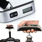 50kg/10g Portable Hanging Electronic Digital Travel Suitcase Luggage Scales LN