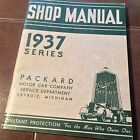 1937 Packard Motor Car Shop Manual