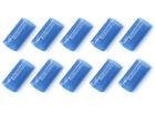 """KnuKonceptz Blue 3/4"""" 4 Gauge 3:1 Heat Shrink Tubing w/ Adhesive Glue 10 Pack"""