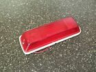 """NOS Snowmobile Rear Taillight Lens Housing Wiring 8"""" x 2 1/2"""" CH 1978-10-002"""
