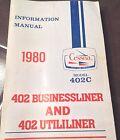 1980 Cessna 402C Businessliner & Utililiner Pilot's Information Manual
