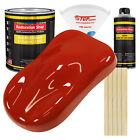 Scarlet Red Gallon Kit Single Stage ACRYLIC ENAMEL Car Auto Body Paint Kit