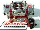 QUICK FUEL Q-750-BAN ANN MECH BLOW THROUGH DRAG RACE REGULATOR FITTING COMBO