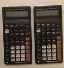 Lot of 7 Texas Instruments BAII Plus Calculator for Parts or Repair