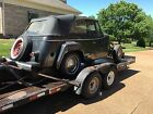 Willys: Jeepster 2 DR Jeepster PHAETON 1949 willys jeepster project car