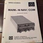 Narco Mark 16 Service manual