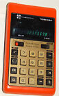 Toshiba Electronic Calculator Vintage Model BC-1010BJ ~ RED LED ~ WORKS GREAT !!