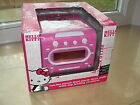 Hello Kitty am/fm stereo dual alarm  clock radio with top loading cd player