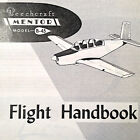 Beechcraft B-45 Mentor Flight Manual Handbook