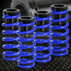"FOR 85-98 VW GOLF/JETTA BLUE 1-3"" ADJUSTABLE COILOVER SUSPENSION LOWERING SPRING"