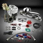 T25/T28 TD04 250HP+BOOST 6PC TURBO CHARGER+MANIFOLD KIT FOR SKYLINE/SILVIA CA18