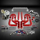 T25/T28 TD04 250HP+9PC TURBO CHARGER+MANIFOLD+INTERCOOLER KIT FOR 200SX/S13 CA18