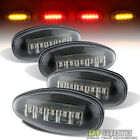 2001-2016 Chevy GMC Dually Pickup Rear Fender Side Marker Lights Amber/Red LED