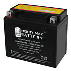 Mighty Max YTX12-BS 12V 10AH Battery for Honda CH250, CN250 Elite Helix 87-09