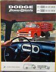 1957 Dodge Truck Models 400 & 500 Power Giants Stake Tractor COE Sales Folder