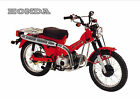 HONDA Poster Classic CT110 CT90 Suitable to Frame