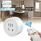 WiFi Smart Phone Remote Control Timer Switch Power Socket Outlet US Plug Control