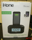 iHome Portable Speaker Stereo FM Alarm Clock Radio Lightning Charging Dock NEW!!